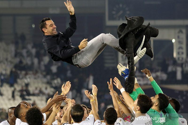 Xavi Hernandez perpanjang kontrak di Al-Sadd hingga 2023