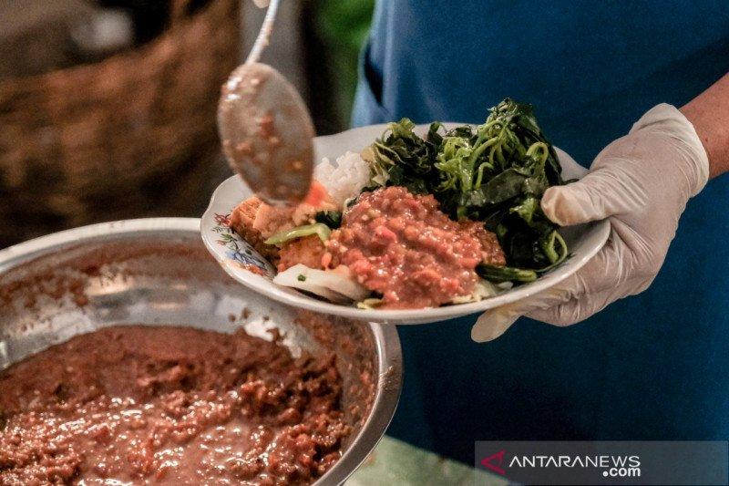 Nasi tempong dan kisah kuliner pedas Banyuwangi