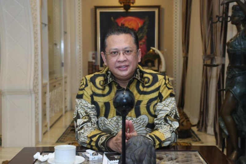 MPR apresiasi Polri tetapkan tersangka kebakaran gedung Kejagung