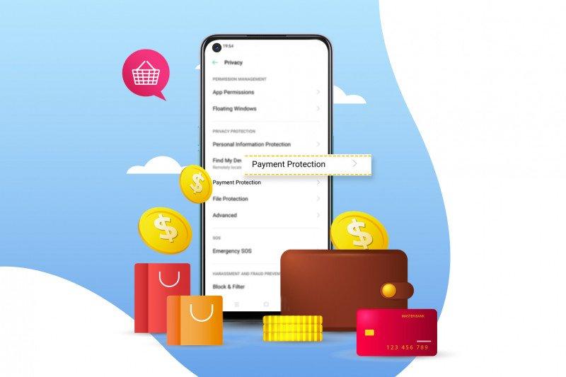 Amankan transaksi online lewat fitur