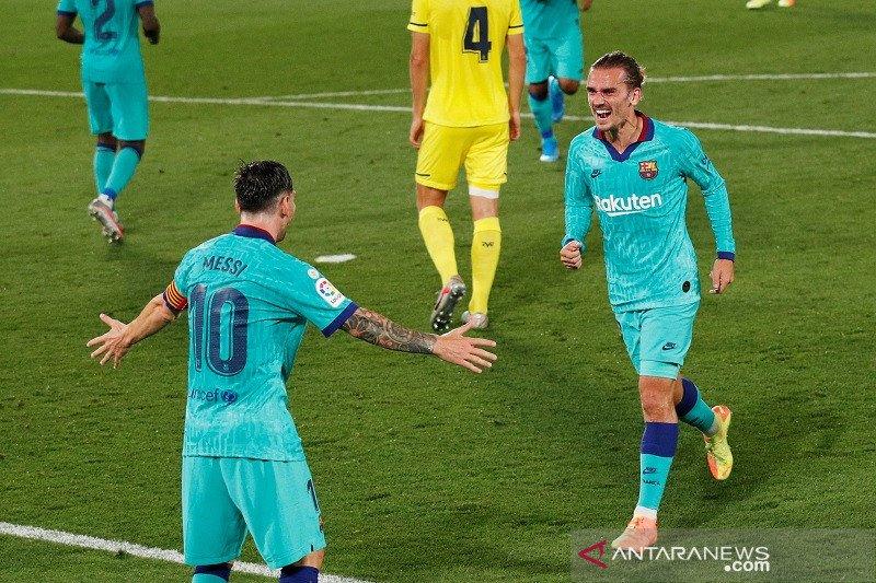 Lumat Villarreal, Barcelona pangkas lagi jarak dari Real Madrid