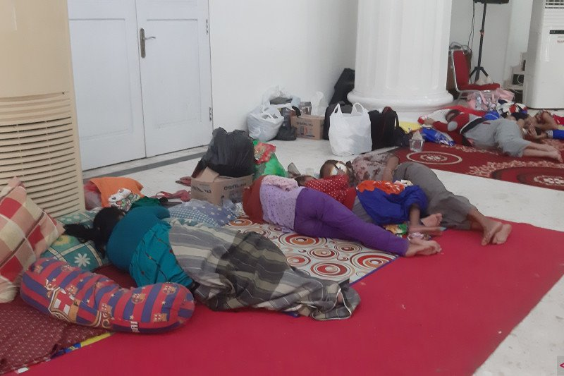170 korban banjir di Gorontalo masih bertahan di pengungsian