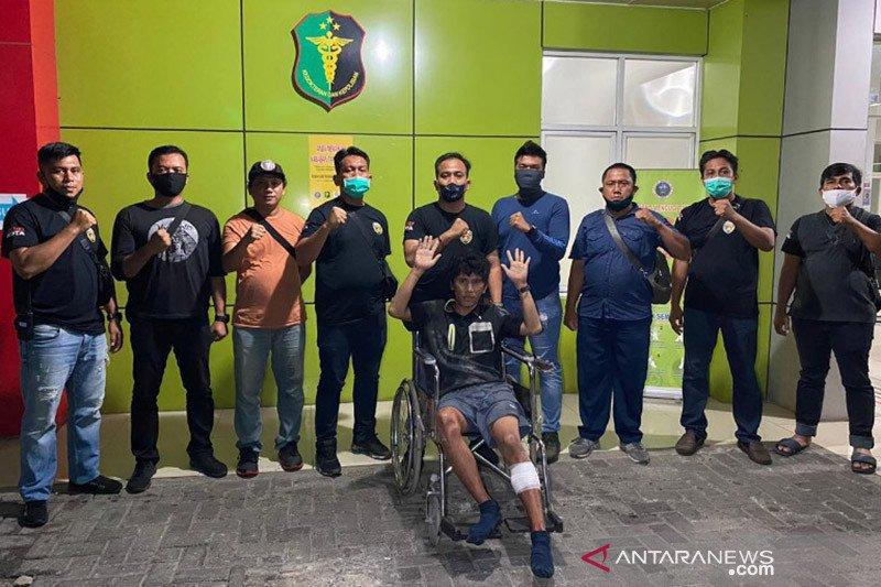 Polisi tembak penjambret wartawati di Medan