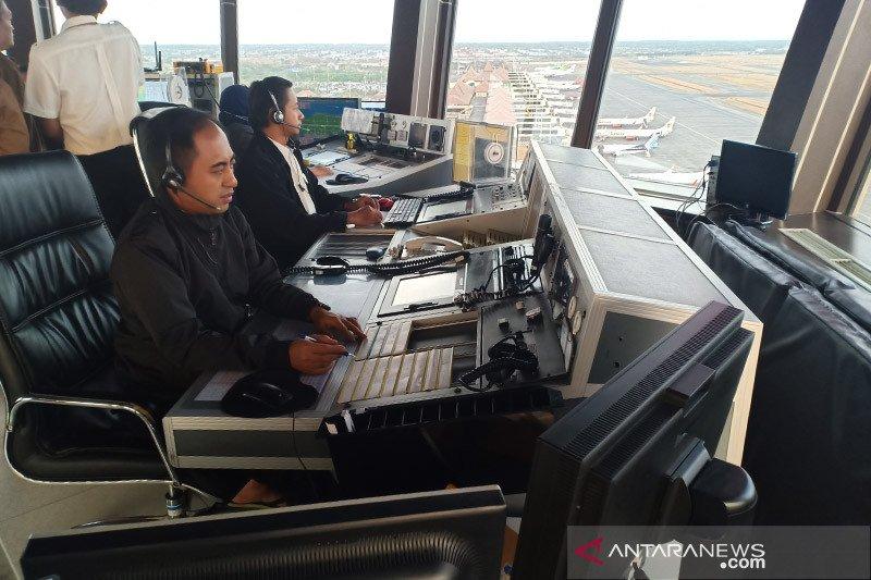 Pergerakan pesawat mulai naik, Airnav siap atur lalu lintas udara