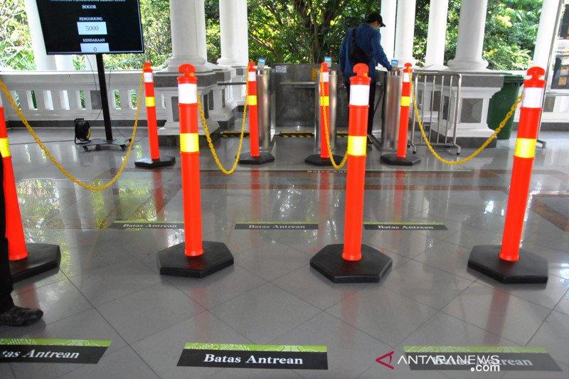 Persiapan pembukaan kembali Kebun Raya Bogor