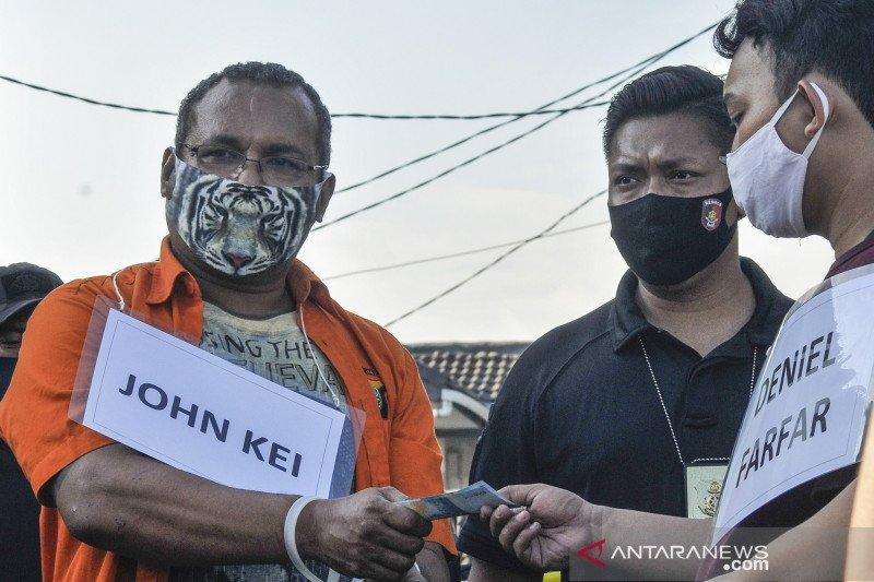 Polda Metro rampungkan 67 adegan rekonstruksi kasus John Kei