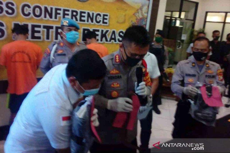Polres Bekasi bekuk dua pelaku tawuran