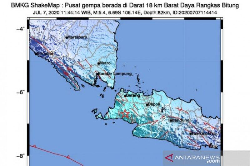 Efek tanah lunak membuat gempa Lebak sangat terasa di Jakarta