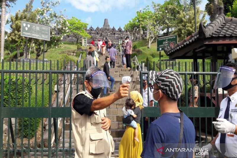 Zona I Candi Borobudur mulai dibuka untuk wisatawan