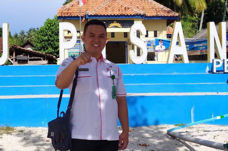 Relawan kesehatan Lampung edukasi protokol kesehatan di pulau terluar