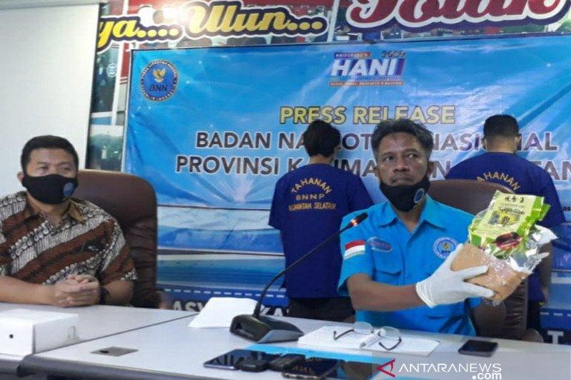 BNN Kalsel duga tangkapan sabu 1 Kg dikendalikan napi Lapas Samarinda