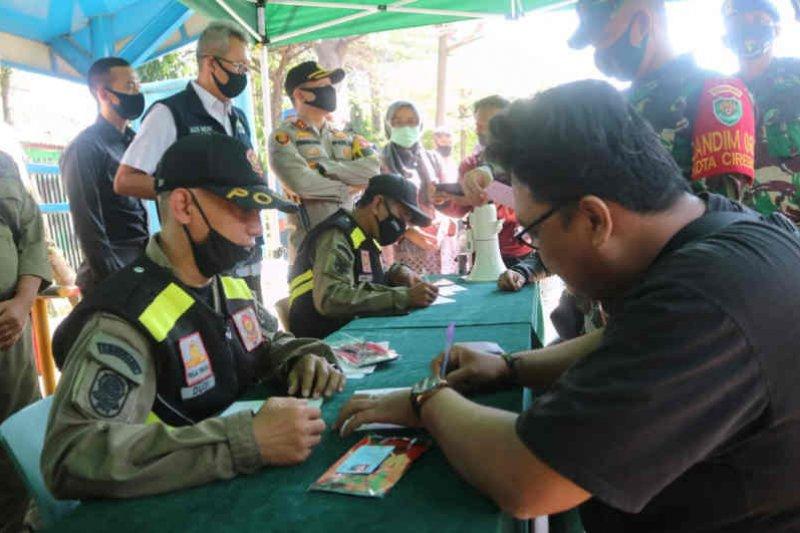 Pemkot Cirebon gencarkan razia penggunaan masker
