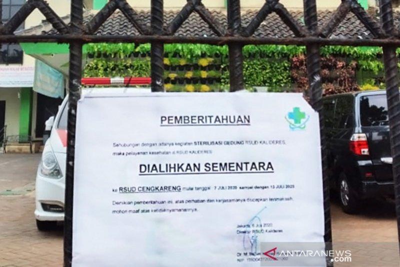 Ruang isolasi pasien COVID-19 di  RSUD Jakarta masih tersedia