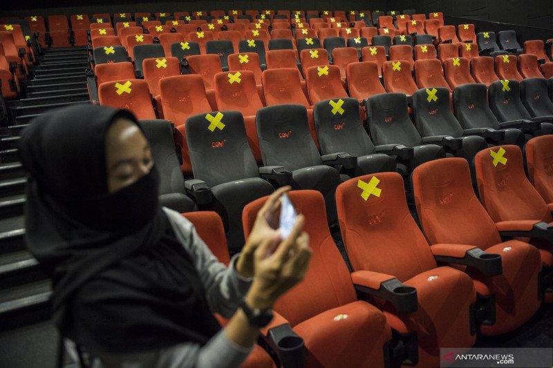 Empat bioskop CGV buka hari ini