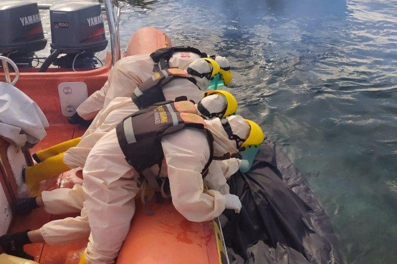 Nelayan hilang di perairan Selat Bunaken ditemukan tim SAR meninggal