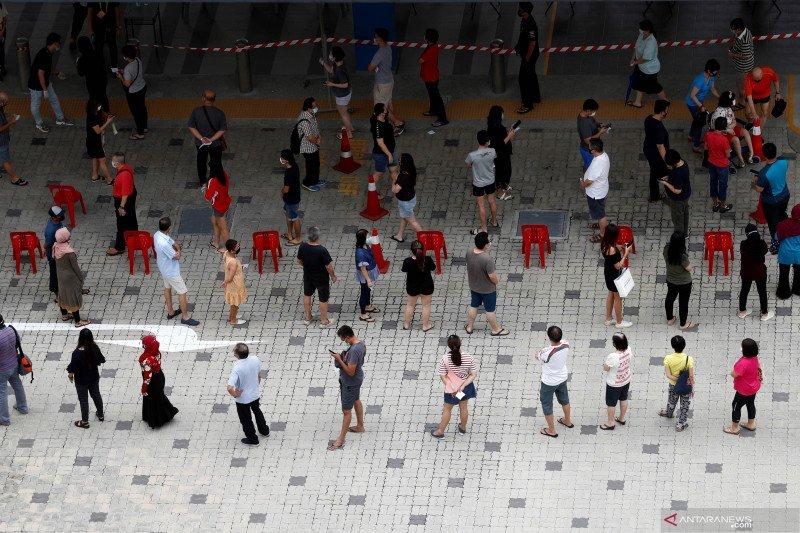 Pemilu di Singapura berlangsung dengan protokol kesehatan