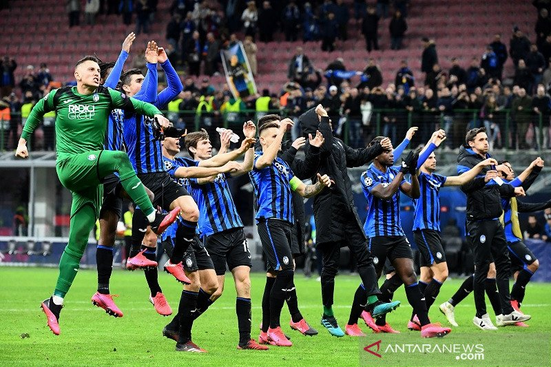 Hasil undian Liga Champions: Atalanta tantang PSG di perempat final