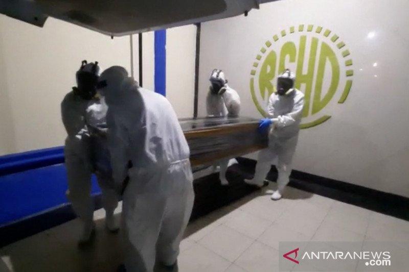 Pasien meninggal COVID-19 di Kaltim dibawa ke Kalsel