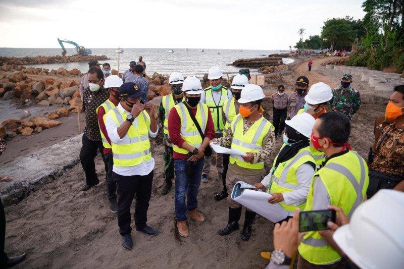 Wagub dorong percepatan pembangunan pengaman abrasi pantai Takalar