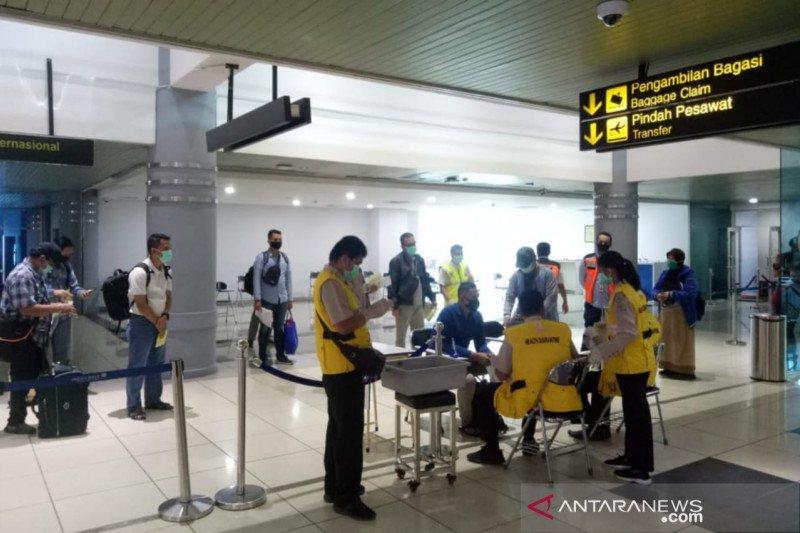 Pergerakan penumpang di Bandara SMB II Palembang mulai meningkat