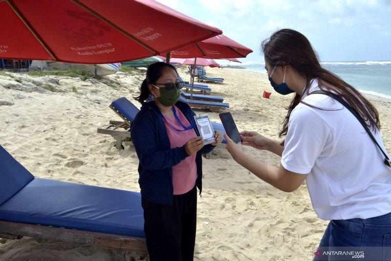 Digitalisasi kawasan wisata Pantai Pandawa Bali