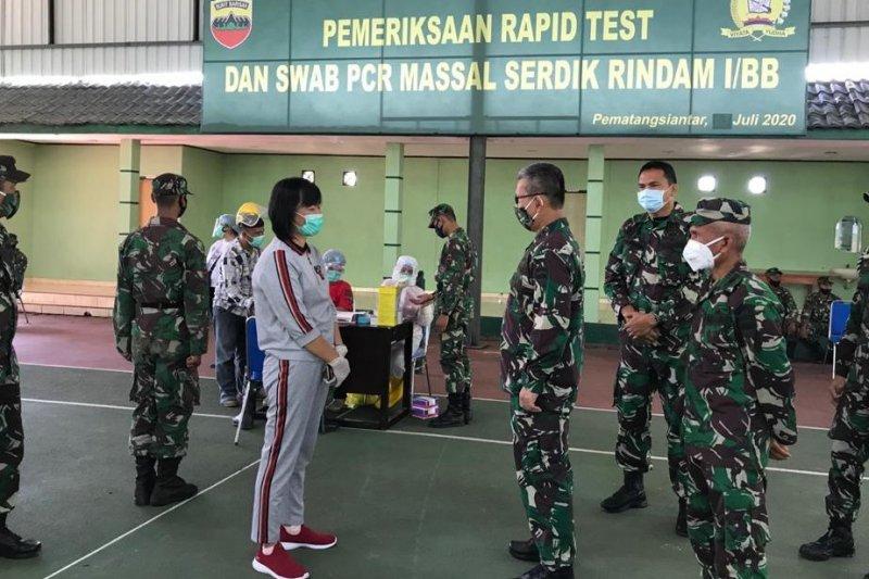 Pangdam I/BB: Tes cepat prajurit Rindam cegah penyebaran COVID-19