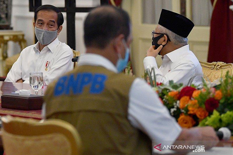 Presiden minta penanganan COVID-19 di delapan provinsi diprioritaskan