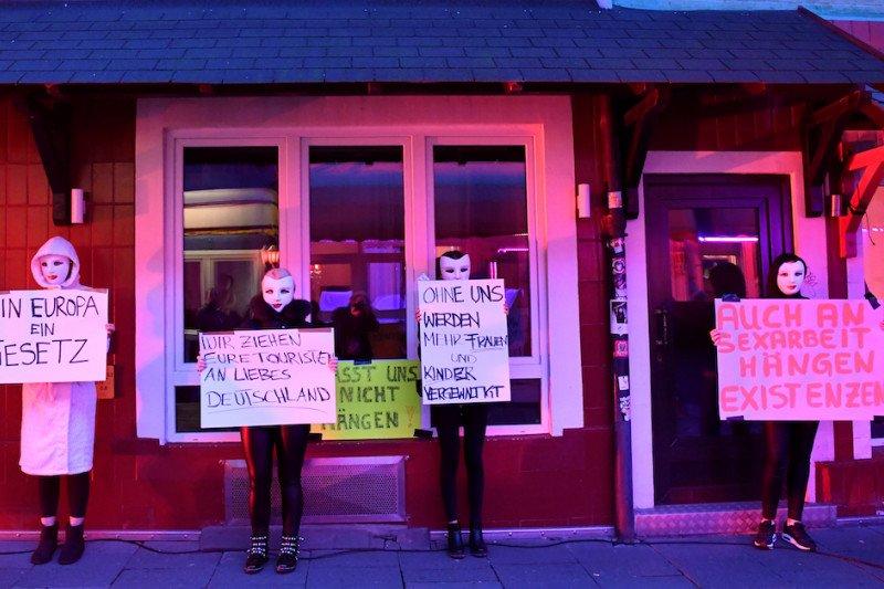 Pekerja seks di Hamburg minta bordil di Jerman dibuka lagi