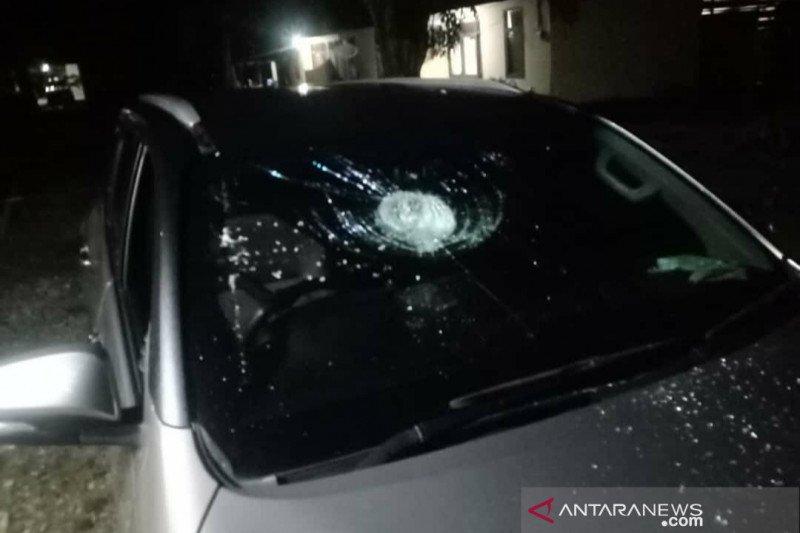 Pulang rapat paripurna, Mobil Anggota DPRD Bengkulu dilempar batu