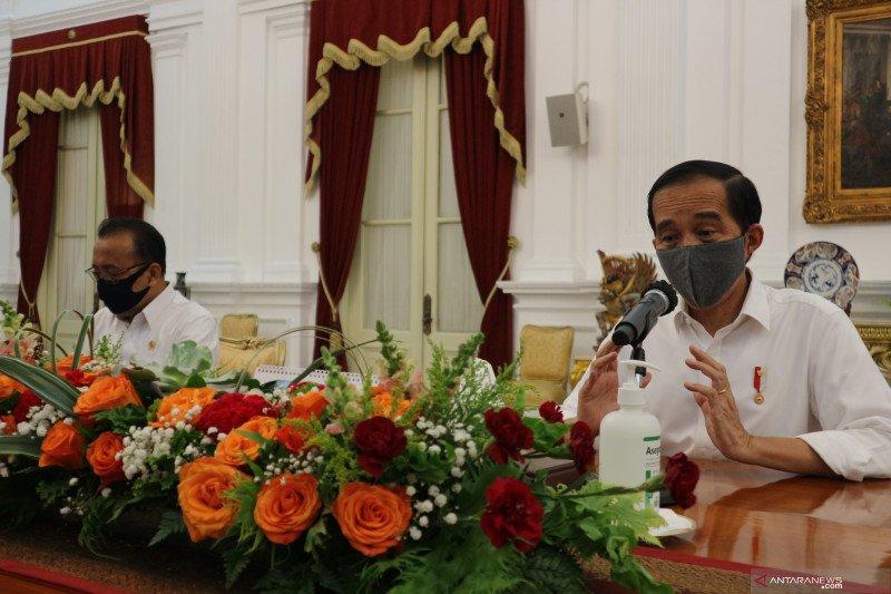 Presiden Jokowi tegaskan rencana perampingan 18 lembaga pemerintah