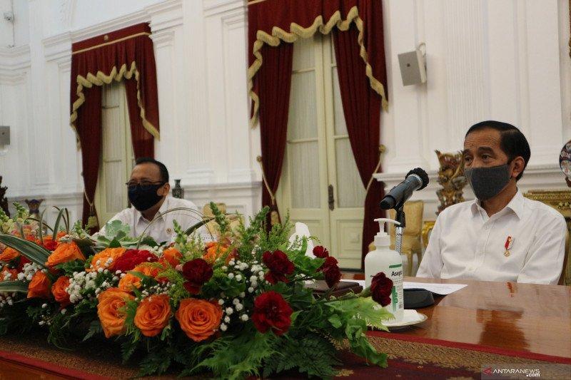 Presiden Jokowi motivasi para menteri bukan marah-marah saat paripurna