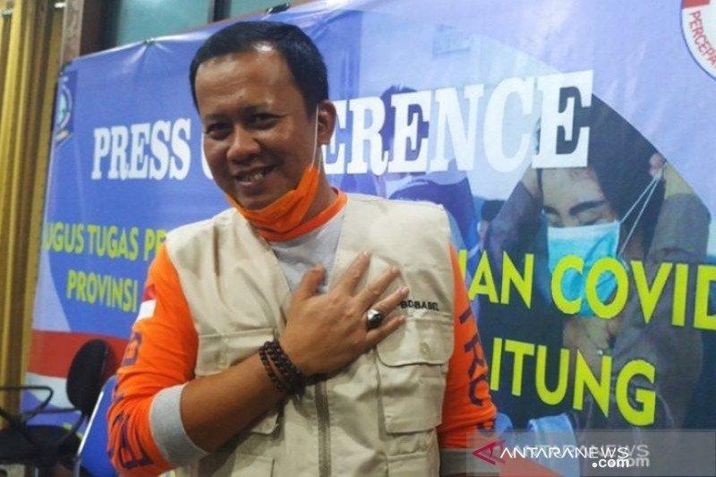 Sekretaris Satgas Penanganan COVID-19 Bangka Belitung tertular corona