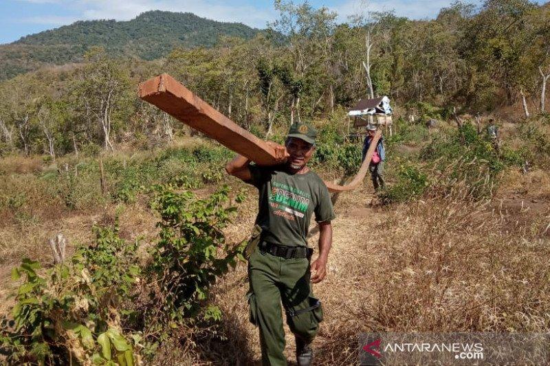 Polhut NTB buru cukong perambahan Hutan Ampang Kampaja Sumbawa