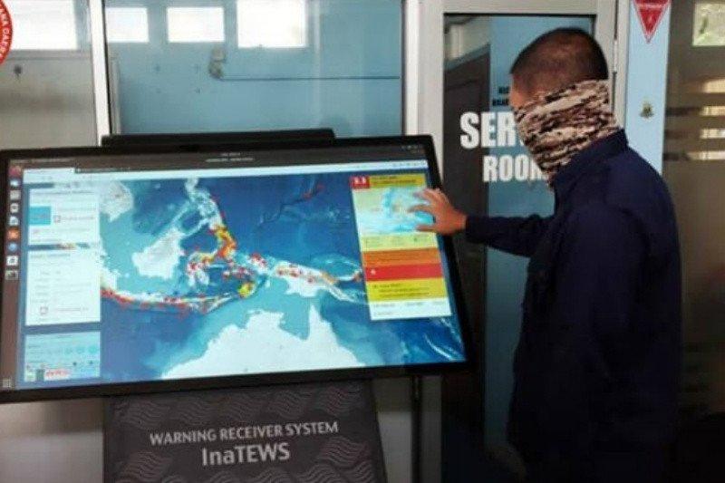 BPBD Bantul tingkatkan sistem informasi peringatan dini tsunami
