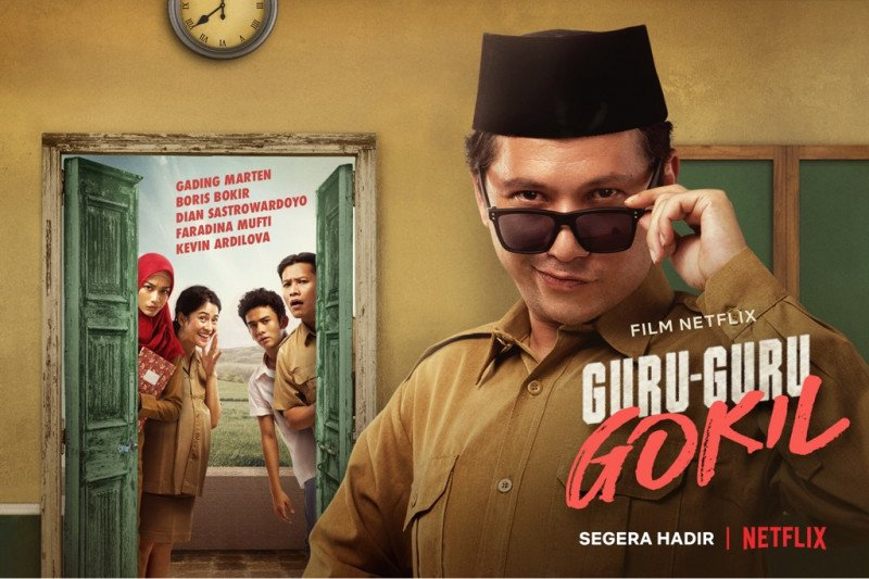 """Film """"Guru-Guru Gokil"""" tayang eksklusif di Netflix"""