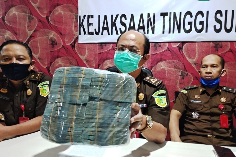 Kejati selamatkan uang negara Rp182 juta dari dugaan korupsi di Majene