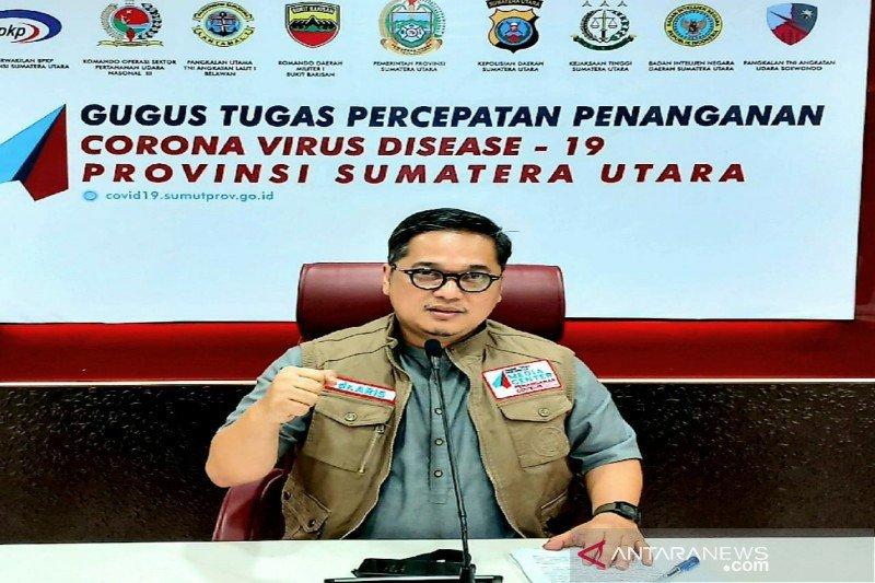 GTPP : 117 warga provinsi lain terpapar COVID dirawat di Sumut
