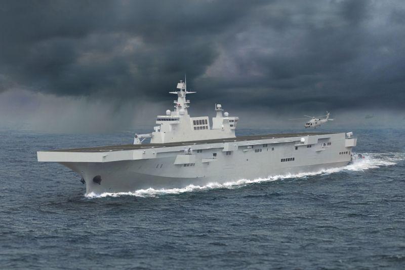 Kapal serbu amfibi China meluncur saat Taiwan latihan militer tahunan