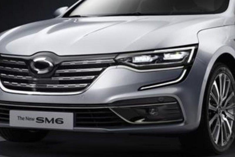Renault - Samsung luncurkan sedan SM6 versi