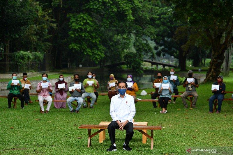 Presiden Jokowi sampaikan realisasi serapan APBD semester I 2020