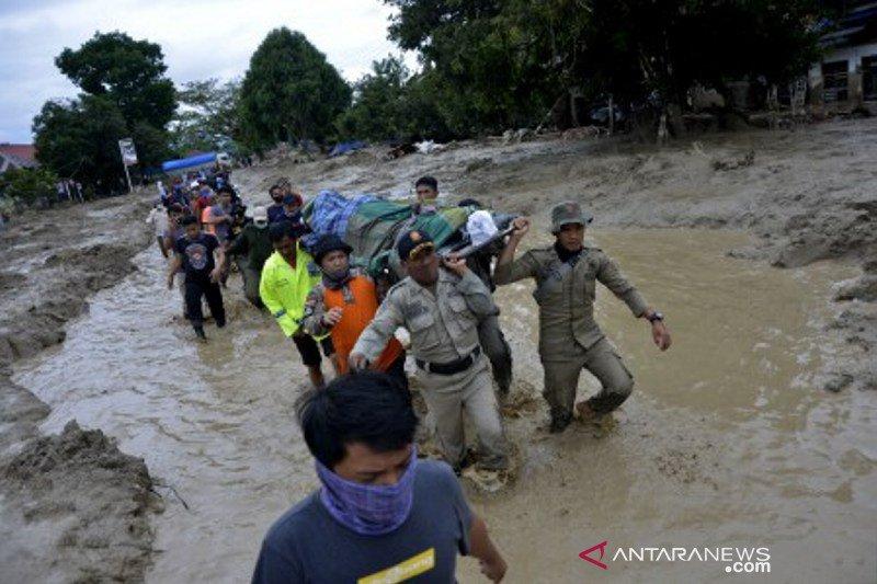 Korban banjir bandang masamba bertambah