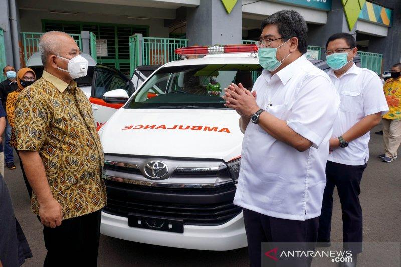 Toyota kirim Innova Ambulans untuk Pemerintah Kota Bekasi