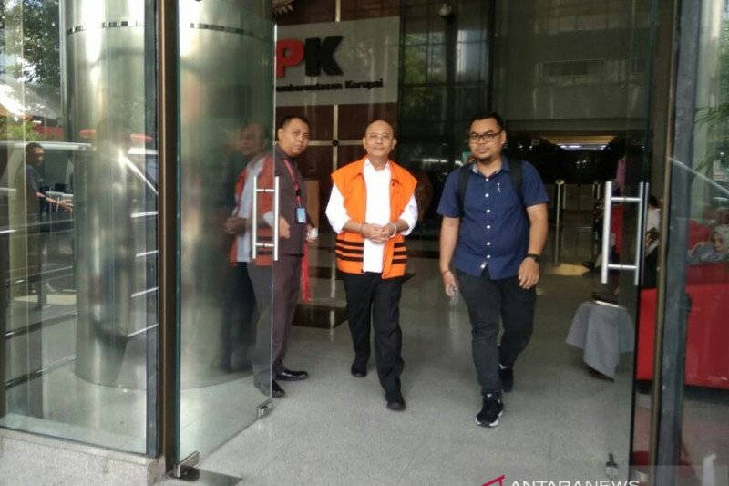 KPK eksekusi bekas Wali Kota Medan Dzulmi Eldin ke Lapas Tanjung Gusta