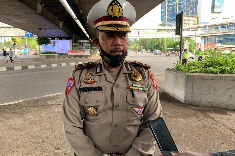 Satlantaswil Jakbar dirikan tiga pos pantau jelang Operasi Patuh Jaya