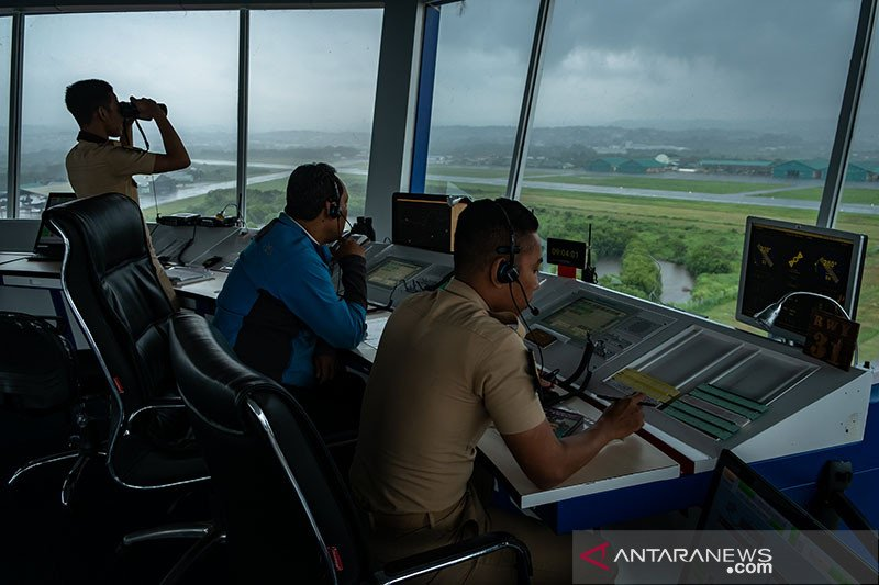 Airnav kelola 55.188 pergerakan pesawat selama libur akhir tahun