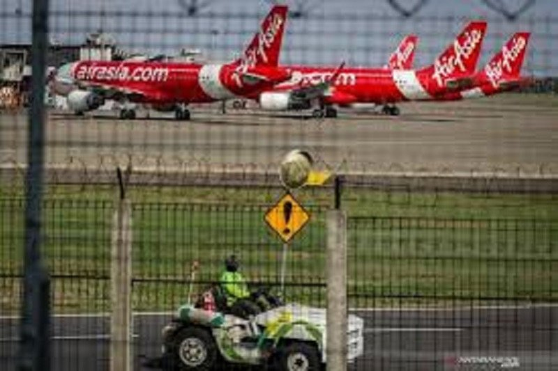 102 pesawat menganggur di Bandara Soekarno-Hatta akibat pandemi COVID-19