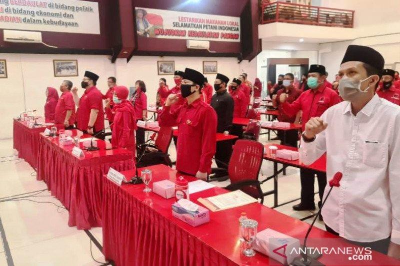 PDI Perjuangan umumkan rekomendasi enam calon kepala daerah di Jatim