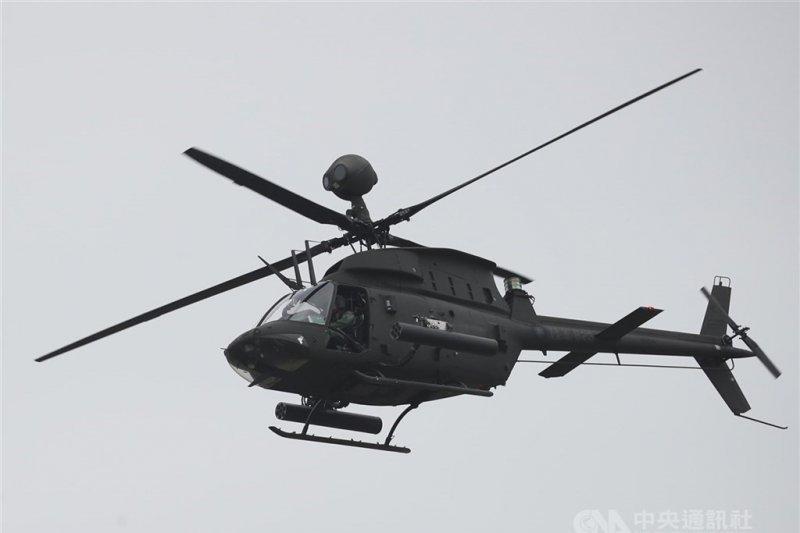 Helikopter militer Taiwan jatuh saat latihan, dua tentara tewas