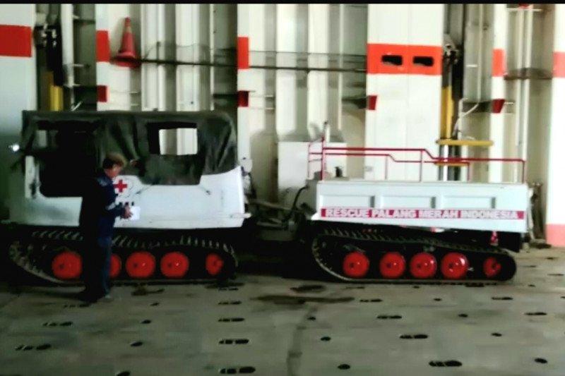 PMI kirim mobil hagglund ke Luwu Utara bantu penanganan bencana