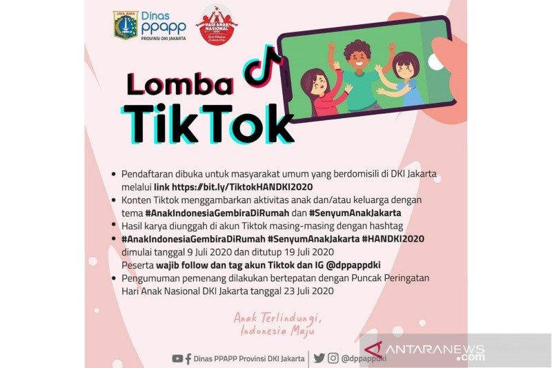 Warga Jakarta Pusat diajak ikut lomba virtual Hari Anak Nasional 2020